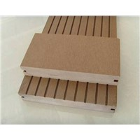 Outdoor wpc composite solid flooring