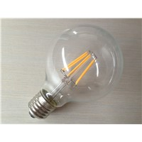 360degree led filament decorative 2400k 6w dimmable e27 led bulb dimmable filament