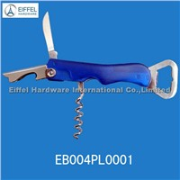 Bottle opener with transparent handle(EBO04PL0001)