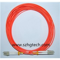 Factory Price LC/LC MM Duplex Fiber Optic Patch Cable