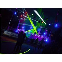 RGB Full Color 3D Animation laser lighting Professional Stage Projector Laser Show Light