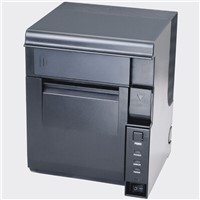 Wall mounted 80mm Thermal POS Printer support QR CODE USB+serial+LAN interface for kitchens&cafes