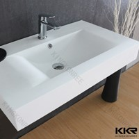 artificial solid surface basin