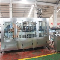 beer bottle washing filling capping 3-in-1 machine