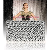 pear and diamond decoration trendy nice quality bag.great clutch purse bag and evening bag