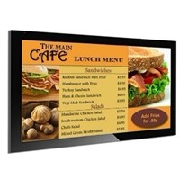 "42"" wall hanging luxury hotels,QSR restaurants lcd digital menu board,advertising screen signage"