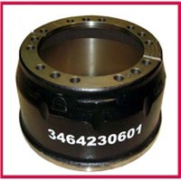 Mercedes Benz truck brake drum 3464230601
