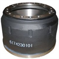 Merceds Benz truck brake drum