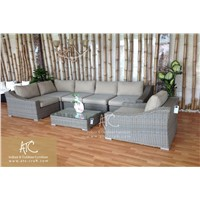 New Design synthetic rattan garden sofa set