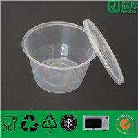 Supply Plastic Food Container with Lid 450ml