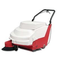 Walk behind/ hand push/ manual battery floor sweeper sweeping machine