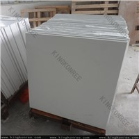 white quartz stone floor tile