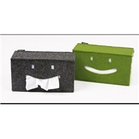 High quality cheap felt paper box and tissue box