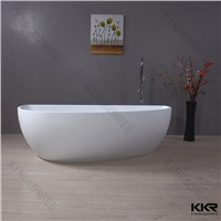 Hot sale Comfortable solid surface spa bathtub custom made bathtub