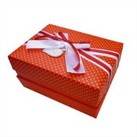 Red Packing box of gift