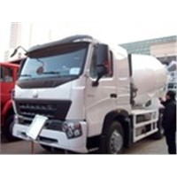 POPULAR Sinotruk HOWO A7 /7  Concrete Mixer Truck 8cbm 6x4 336HP Popular sale EURO II With Italy Pto