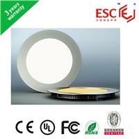 best quality 3years warranty round led panel light dimmable