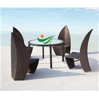 newest rattan dining set