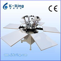 Manual 8 Color t-Shirt Silk Screen Printing Equipment KR880M