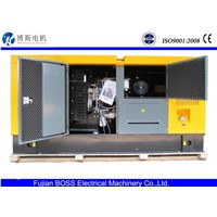 Hot! CE Approved 87.5KVA/70KW Lovol series silent Diesel Genset