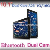 HD Screen 1024*600 Allwinner A23 1.5GHZ Bluetooth 1G16/G Android 4.2 Dual Core Dual Camera Tablet pc