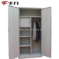 Folding Steel Bedroom Wardrobe Cabinet