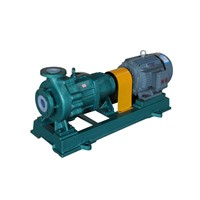Chemical Industrial Centrifugal Pumps Fluorin Plastic Enhanced Alloy