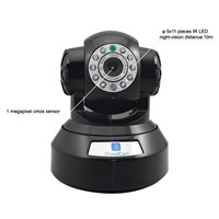 1.0 megapixel wifi wireless IP camera