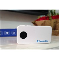 Bluetooth audio transmitter for DVD, MP3, TV and other device with 3.5mm Audio output