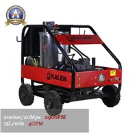 AK20/15H Cold/Hot water high pressure washer