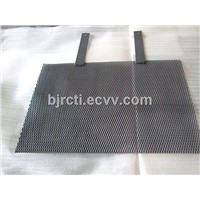 Iridium-Tantalum Oxide Titanium Anode Mesh for Making Oxygen or Hydrogen