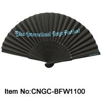 Luxurious Silk Bamboo Fan for Wedding