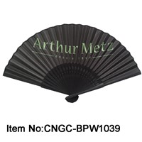 Personalized bamboo paper fan full color printing