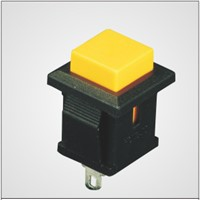 push button switch with 3A 125V AC/1.5A 250V AC
