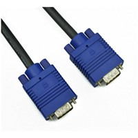 VGA TO VGA cable / high quality VGA Cable for monitor computer HDTV vga cable M to M