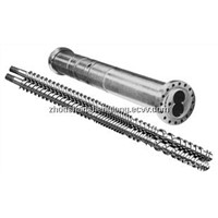 parallel twin screw and barrel for extruder