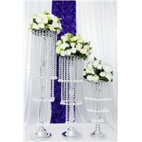 LED tall square wedding column wedding decoration led lights for party