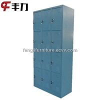 12 door metal storage locker for worker