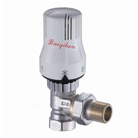 15mm angled thermostatic radiator valve