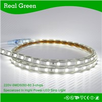 220V SMD5050 White LED strip light