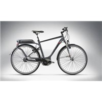 Travel Hybrid Pro E-Bike - 2014 Anthracite/Black/White/Red - 50cm