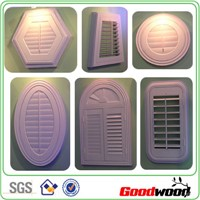 custom made pvc window shutter