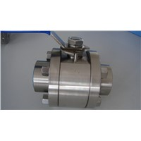 3pc forged ball valve