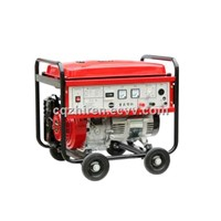 5KW Three Phase Recoil Start Air-cooled Portable Rare earth magnet gasoline generator set