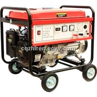 6KW Brushless Movable Rare Earth Permanent Magnet Gasoline Generator Set
