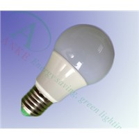 AK-PLB001 High Lumen Plastic Coated Aluminum LED Bulb light 9W
