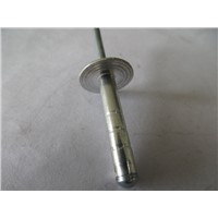 China Aluminum carbon steel (iron) large cap double drum rivets
