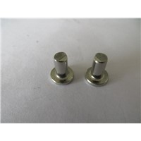 China stainless steel flat head Solid rivets