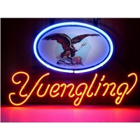 New T125 YUENGLING handicrafted real glass tube neon light beer lager bar pub club sign.