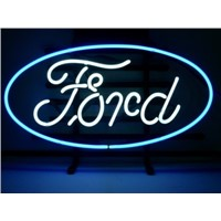 New T438 FORD handicrafted real glass tube neon light beer lager bar pub club sign.